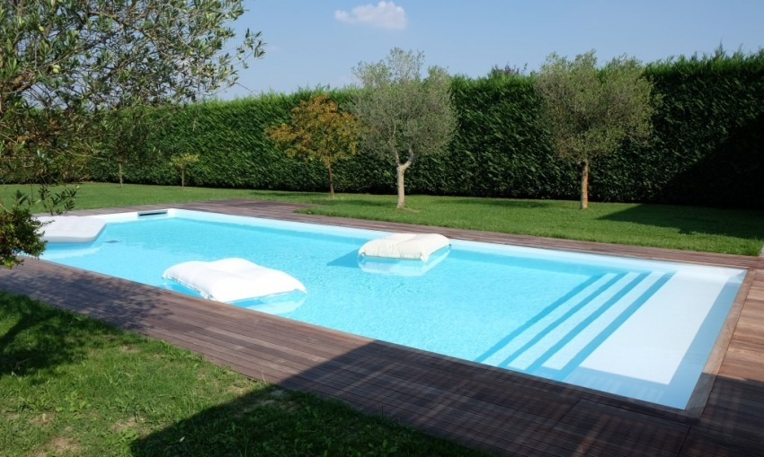 Quanto tempo mi serve per costruire una piscina interrata?