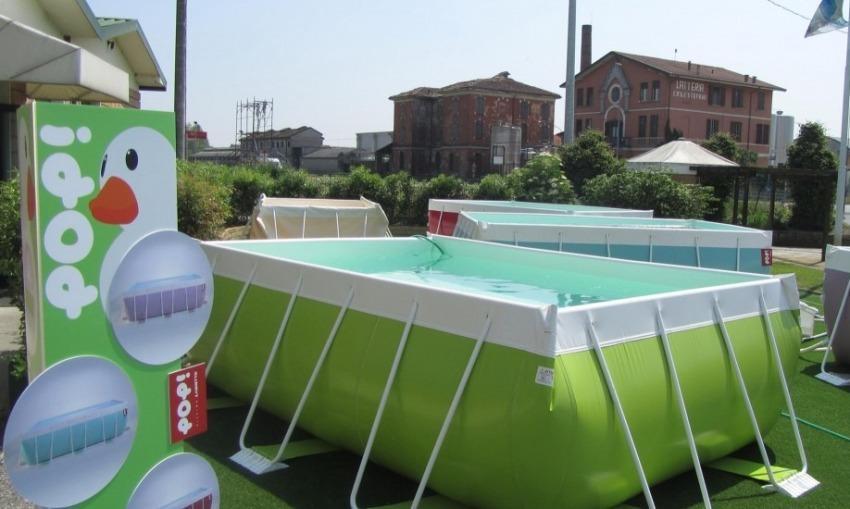 Interrare una piscina fuori terra