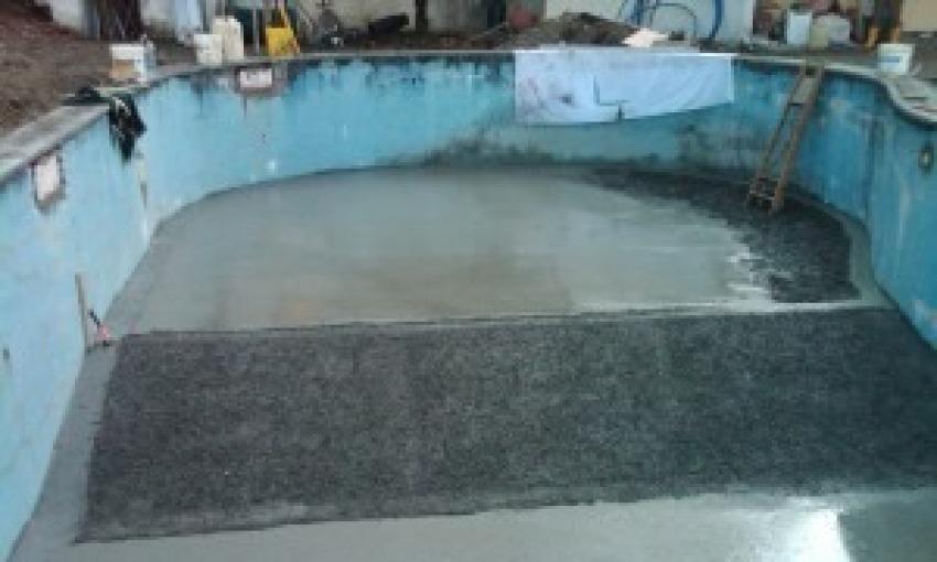 Ristrutturazione piscina interrata
