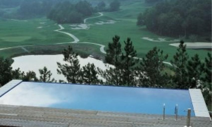 Piscina Green a basso impatto ambientale
