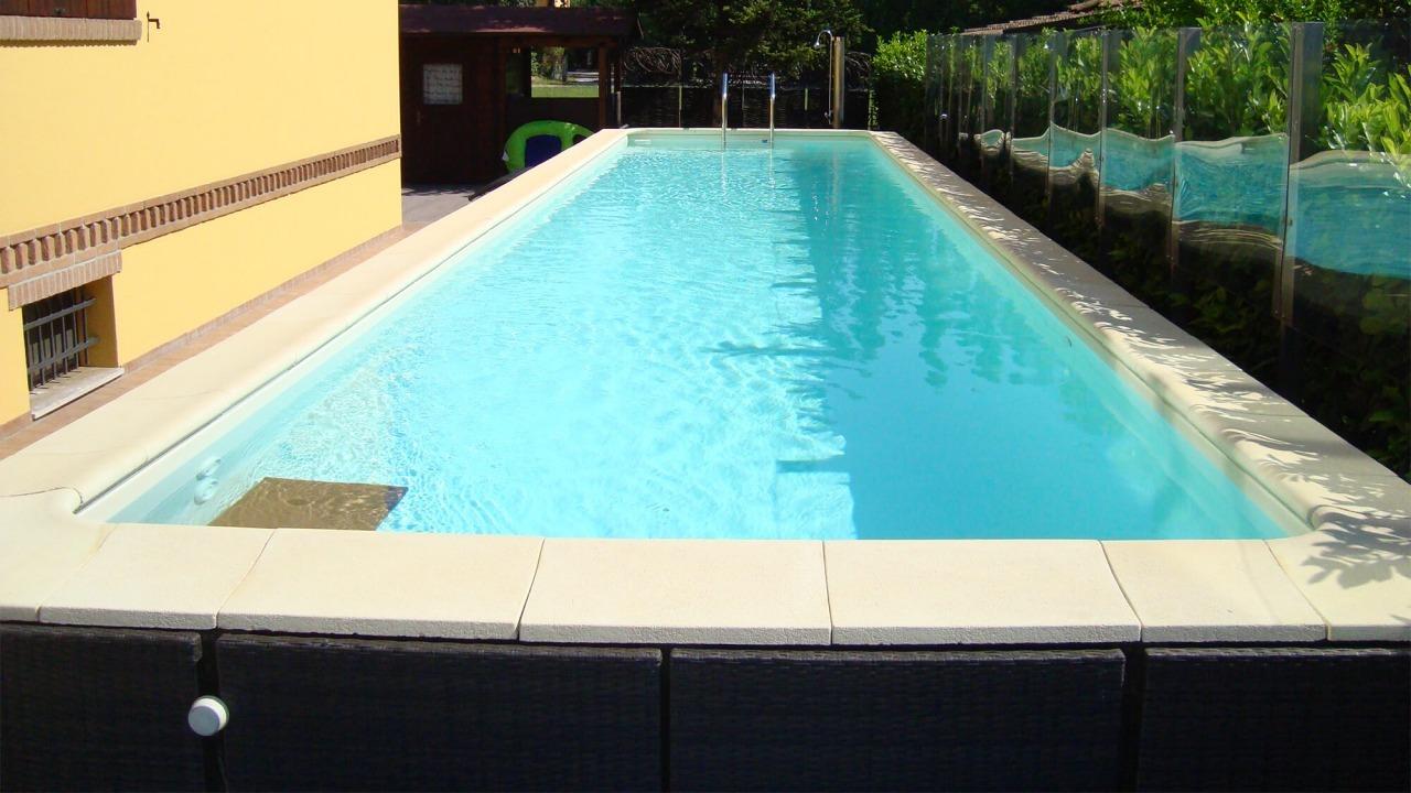 piscina fuori da terra modello dolce vita gold