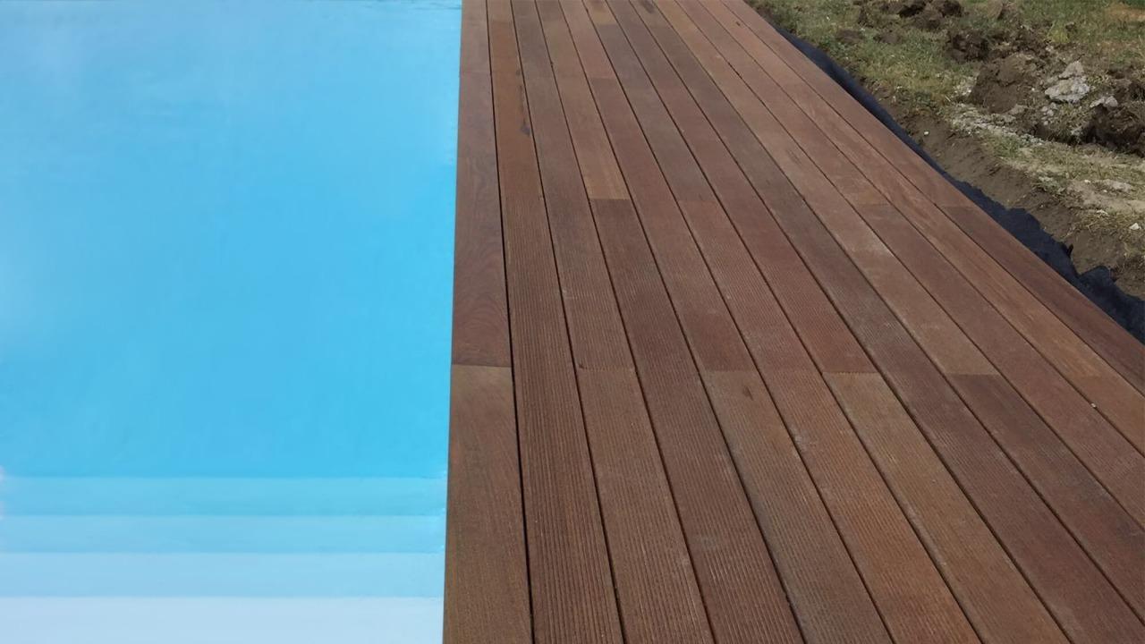 bordo vasca in legno