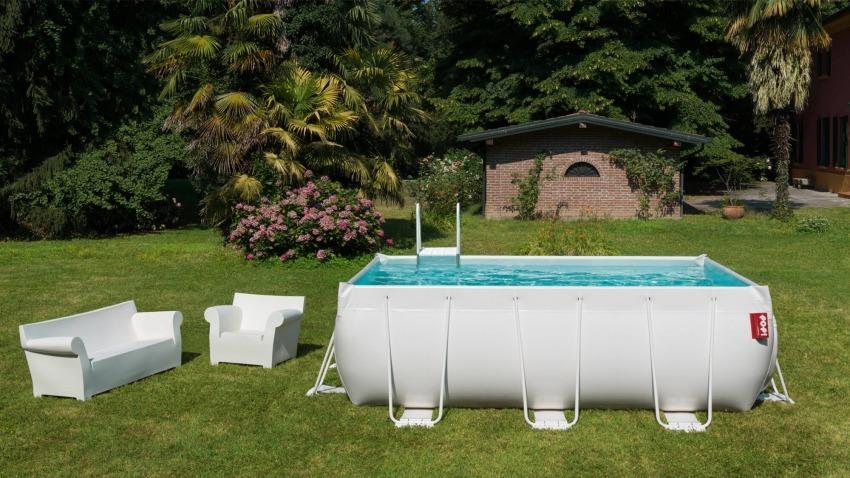 piscina laghetto POP! bianca