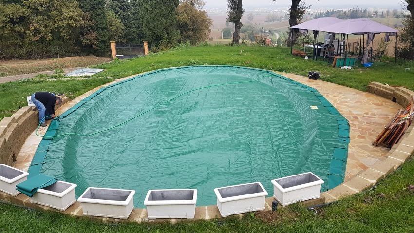 copertura invernale per piscine