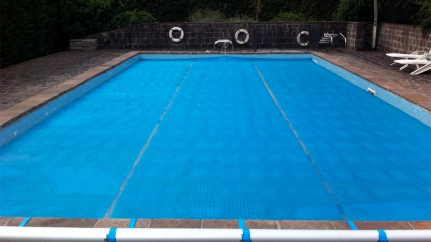 copertura estiva per piscina